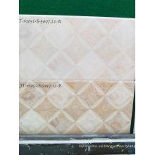 Hermoso y práctico azulejo de pared pulido de 300 * 600 mm