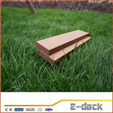 Alta qualidade ao ar livre à prova d'água WPC madeira composto decking de plástico para venda
