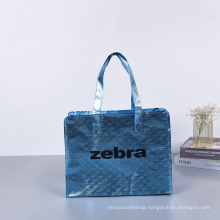 Top Quality Custom Logo Printed Coloful beauty Tote Shopping Laminated PP Woven Bag