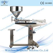 Pneumatic Stainless Steel Semi-Auto Manual Bottle Filling Machine