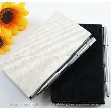 Держатель записной книжки металла, держатель для записной книжки с ручкой, держатель для памятки