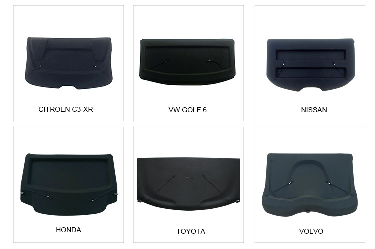 SUV Retractable Trunk Cargo Cover