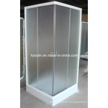 Duschraum mit weißer Oberfläche (E-07White)