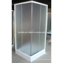 Cuarto de ducha con acabado blanco (E-07White)