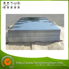 ASTM B168 Inconel600 Inconel601 Nickel et plaque d'alliage de nickel
