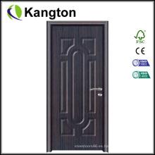 Nuevo producto Interior MDF Puerta de PVC de madera (puerta de madera de PVC)