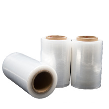 China Supplier Superior Quality Customization PE LLDPE Hand Stretch Wrap Film for Packaging