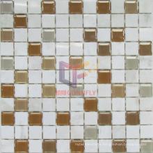 Marble Mix Glass Mosaic (CFS875)