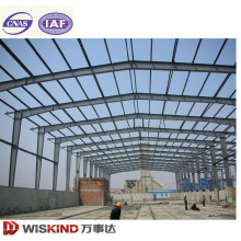 Large Wide Span Light Steel Structure Construction Frame Steel Warehouse