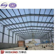 Grande armazém de aço largo do quadro de construção da construção de aço da luz do período