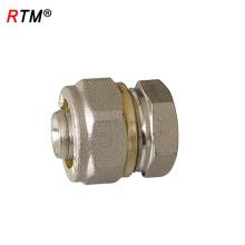 J 4 10 2 chumbo livre de compressão de compressão acessórios para tubos de irrigação de aço inoxidável acessórios de compressão