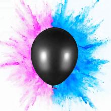 Le bébé imprimé par coutume expriment le bruit de ballon de poudre