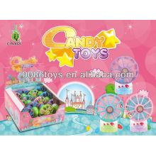 Enrollar juguetes mini ventilador caramelo