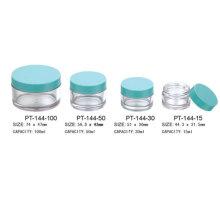 Round Cosmetic Plastic Pot