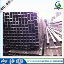 small rectangular corrugated galvanized steel pipe tube