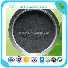 Carvão ativado em pó com base em madeira de 325 carvões para decoloração