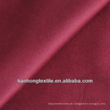 Baumwoll-Twill Elasthan gefärbt gewebte Hose Stretch-Stoff