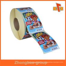 Cantão vendedor impressão por grosso e material de embalagem personalizado auto-adesivo etiqueta de sabão artesanal