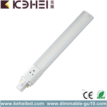 8W G23 LED PL Tube Nature Bianco AC220V
