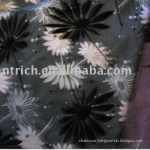 Table covers, Chameleon flocking table cover, table linen, hotel tablecloth