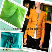 100% Nylon Stoff für Lady Herbst Daunenjacke Kleidung Stoff