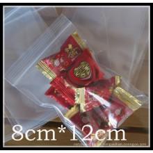 Bolsa de plástico con cremallera para caramelos