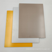 Gold White Color 2mm 3mm 4mm 5mm Solid ACP
