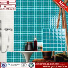 China-Versorgungsmaterial-Grünwanddekoratives Badezimmermosaikblick-Keramikfliese