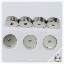 Round NdFeB Permanent Magnets with Hole