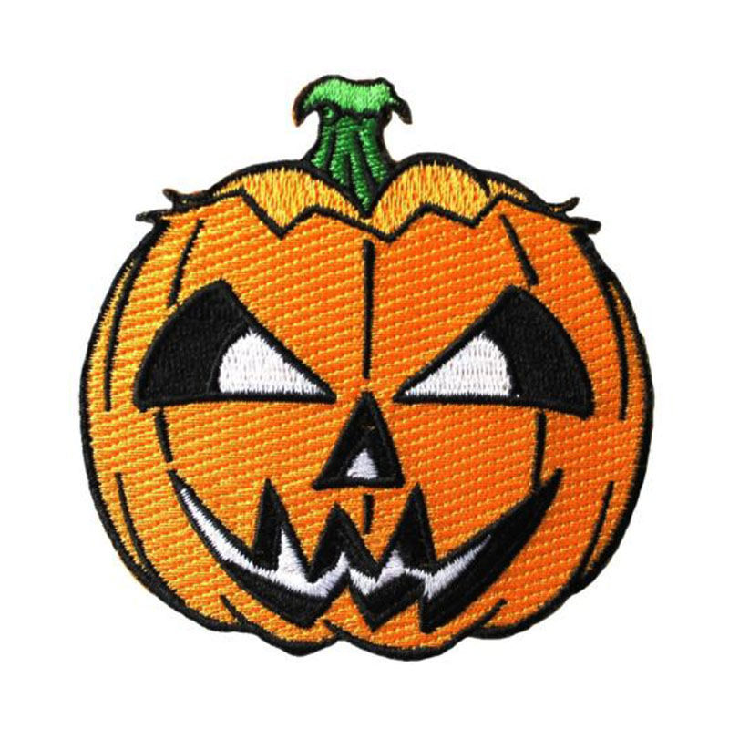 Pumpkin Craft Applique Patch