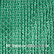 Paño de sombra agrícola 150g / m2 negro verde
