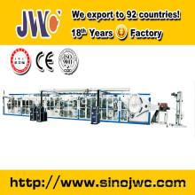 full servo breast pad making machinery JWC-RD-SV