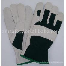 Pig split leather Gardening glove