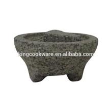 Mexikanischer Granit Molcajete zur Herstellung von Guacamole
