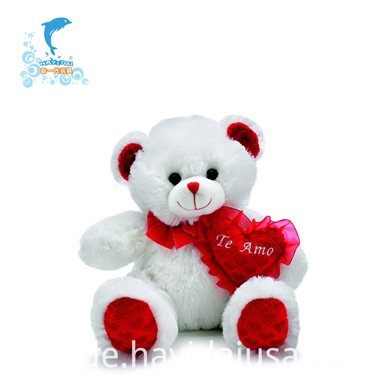 Valentine's Day Plush Bear