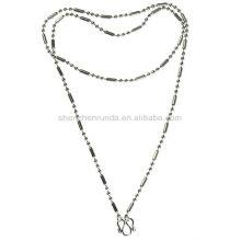 Collier en chaîne sans allergie en acier inoxydable pour accessoires pour bijoux masculins