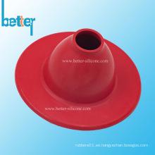 Cubierta antipolvo de fuelle de goma resistente a la intemperie moldeada a medida