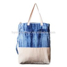 Natural eco friendly customized cotton linen shopping bag