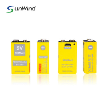 Multimeter Electric Equipment 9V USB Lithium-ion Battery