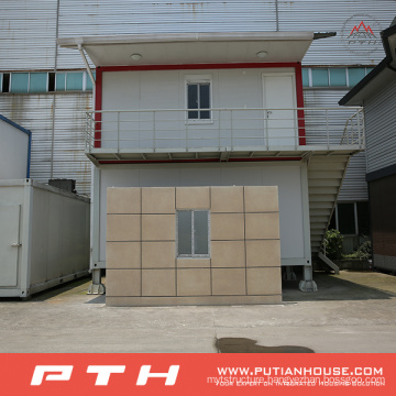 Container House as Prefabricated Home Building Project
