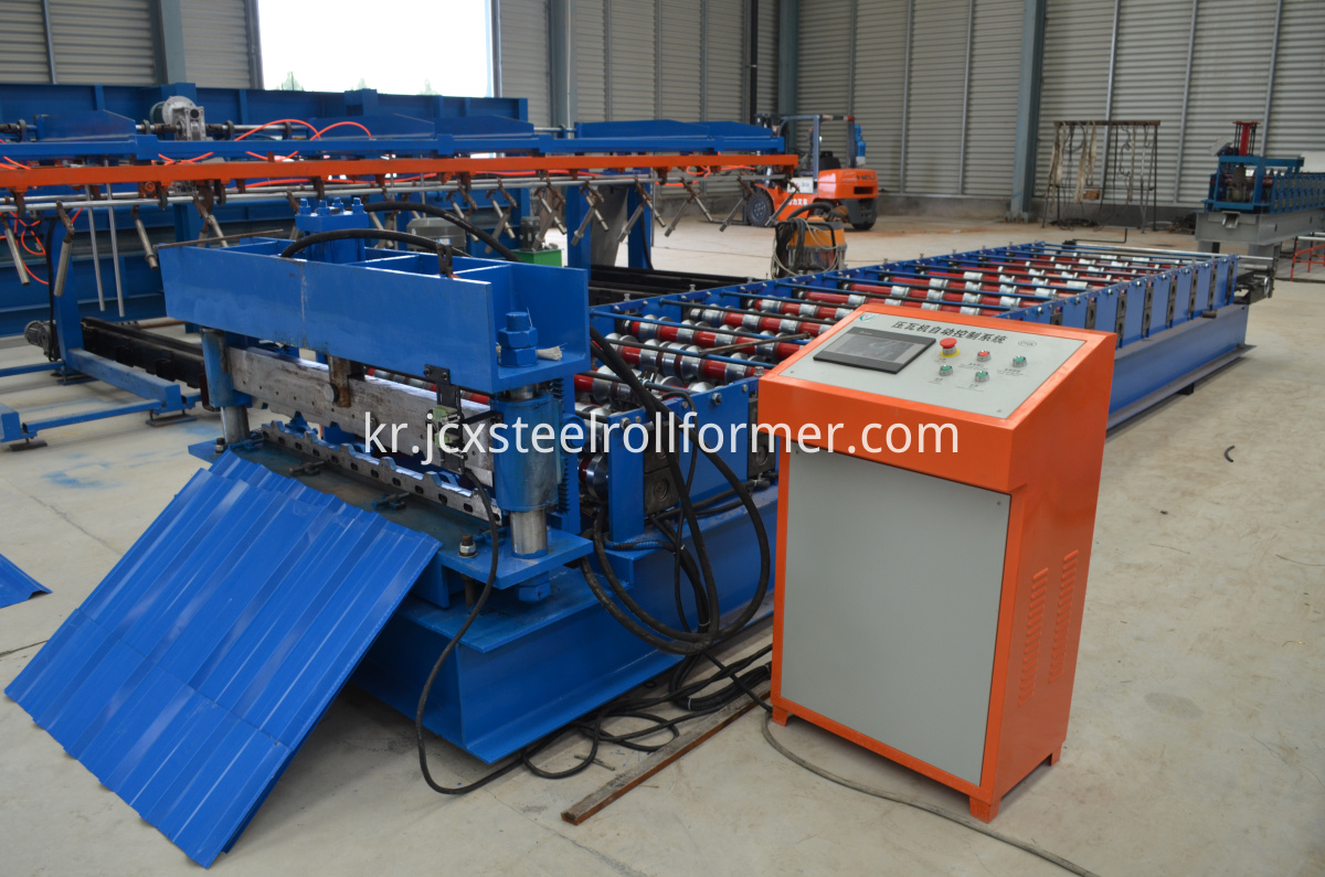 C20 roll forming machine