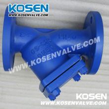 Colador tipo Y de acero fundido DIN (YG41H)
