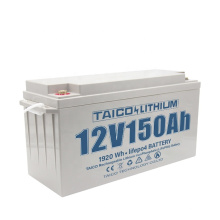 Solar Battery 12.8v 50ah 100ah 150ah Lifepo4 Battery For Solar Pane or UPS and Yacht