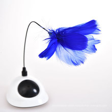 Innovative Alien Outlooking Installed Anywhere Electric Cat Feather Toy,Cat Laser Toy