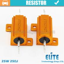 Resistor / resistor de travamento dos bulbos 25W 50W 100W 25RJ do diodo emissor de luz de Canbus