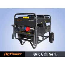 12KVA refrigerado por aire Generadores de gas, tipo abierto, generador de energía
