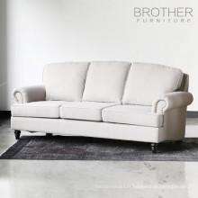 dernière conception tufting retour sofa sectionnel de salon