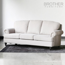 latest design tufting back sectional living room sofa