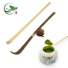 Umweltfreundlicher handgemachter Bambus Matcha Löffel