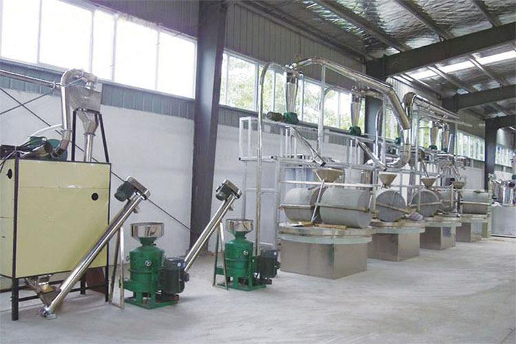 stone flour mill machine